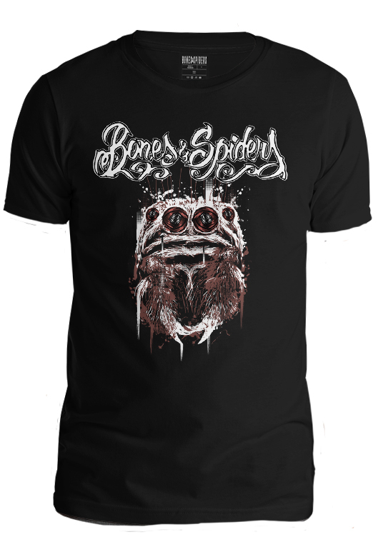Bones & Spiders - Gorilla Jumping Spider - T-Shirt